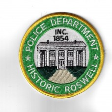 United States Historic Roswell Police Department Police Cloth Pat