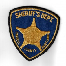 United States Carroll County Maryland Sheriff's Deparment Police
