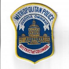 United States District of Columbia Metropolitan Police Cloth Patc
