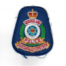 Australia Queensland Police Cloth Patch