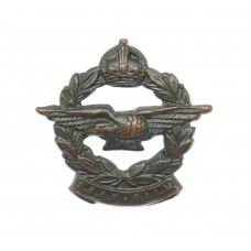 South African Air Force (S.A.A.F.) Officer's Collar Badge - King's Crown