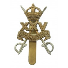 25th Dragoons Cap Badge