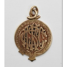 1913 Mexborough & District Cricket League 9ct Gold Medallion