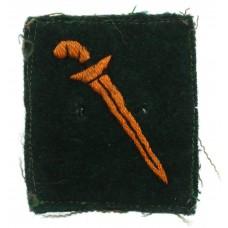 Malaya Command Cloth Formation Sign