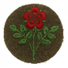 55th (West Lancashire) Division Cloth Formation Sign (1st Pattern
