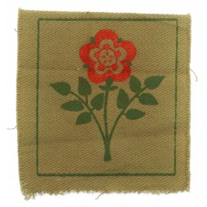 55th (West Lancashire) Division Cloth Printed Formation Sign (2nd