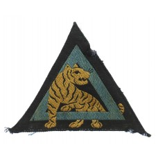26th Indian Division Silk Embroidered Formation Sign