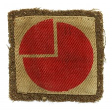 4th Infantry Division Printed Formation Sign (2nd Pattern)