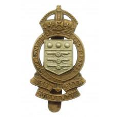 Royal Army Ordnance Corps (R.A.O.C.) Bi-Metal Cap Badge - King's