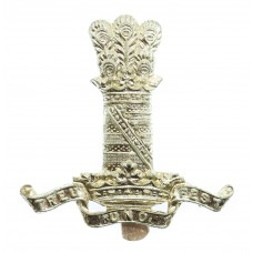 11th Hussars Anodised (Staybrite) Cap Badge