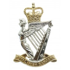 Royal Irish Rangers Anodised (Staybrite) Cap Badge