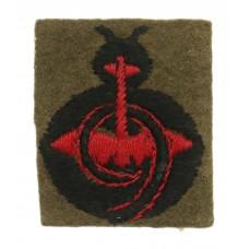 9th Anti-Aircraft Division Cloth Formation Sign
