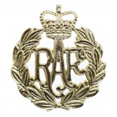 Royal Air Force (R.A.F.) Anodised (Staybrite) Cap Badge