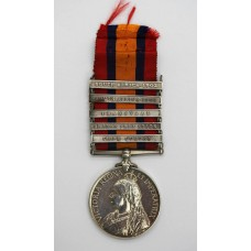 Queen's South Africa Medal (Clasps - Cape Colony, Orange Free Sta