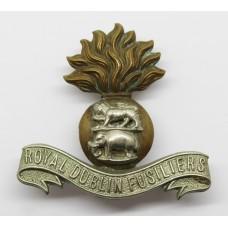 Victorian / Edwardian Royal Dublin Fusiliers Cap Badge