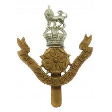 The Loyal Regiment Cap Badge - King's Crown