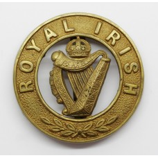 Royal Irish Regiment Pagri Badge - King's Crown
