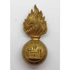 Royal Inniskilling Fusiliers Fur Cap Grenade Badge
