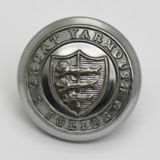 Great Yarmouth Police Coat of Arms Button (Large)