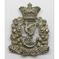 Victorian Dublin County Light Infantry Glengarry Badge