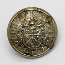 Oldham Borough Police Coat of Arms Button (Large)