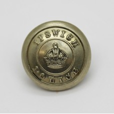 Ipswich Borough Police Button - King's Crown (Small)