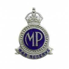 WW2 Metropolitan Police War Reserve Lapel Badge