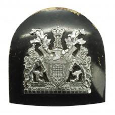 Metropolitan Police Motorcycle / Mounted Officer's Cap Badge - Queen's Crown