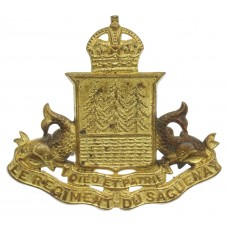 Canadian Le Regiment du Saguenay Cap Badge