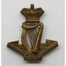 Victorian Royal Irish Regiment Cap Badge