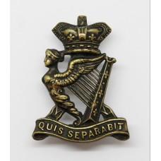Victorian Royal Irish Rifles Cap Badge