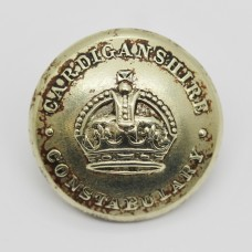 Cardiganshire Constabulary Button - King's Crown (Large)