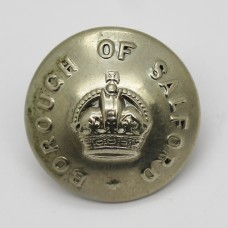 Salford Borough Police Button - King's Crown (Large)
