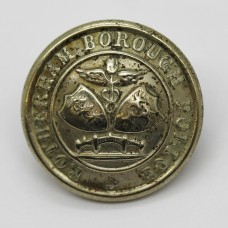 Rotherham Borough Police Coat of Arms Button (Large)