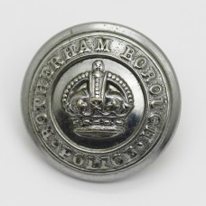 Rotherham Borough Police Button - King's Crown (Large)