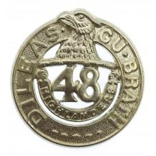 48th Highlanders of Canada Cap Badge