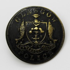 Glasgow City Police Button (Large)