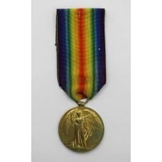WW1 Victory Medal - Dvr. D. Fletcher, Royal Engineers