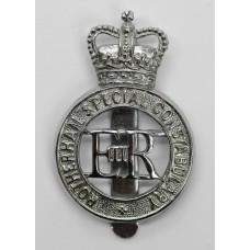 Rotherham Special Constabulary Cap Badge - Queen's Crown