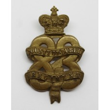 Scarce Victorian 83rd (County of Dublin) Regiment of Foot Glengarry Badge (c.1874-81)
