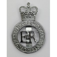 Sheffield & Rotherham Constabulary Cap Badge - Queen's Crown
