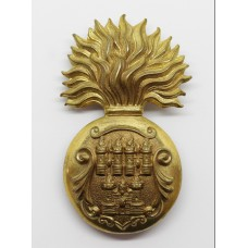 Royal Dublin Fusiliers Senior NCO's Fur Cap Grenade Badge
