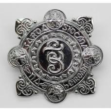 Garda Siochana (Irish Police) Chrome Cap Badge