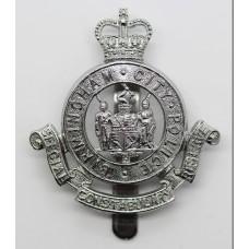 Birmingham City Police Special Constabulary Reserve Cap Badge - Q