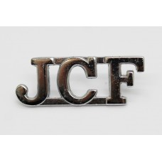 Jamaica Constabulary Force (J.C.F.) Shoulder Title