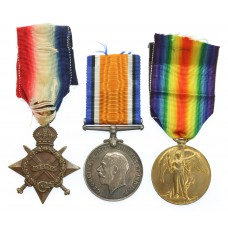 WW1 1914-15 Star Medal Trio - Pte. J. Sabin, Royal Army Medical C