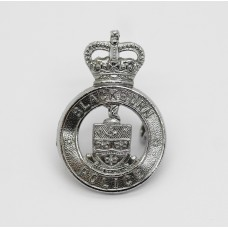 Blackburn Borough Police Collar Badge - Queen's Crown