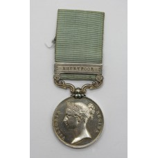 Army of India Medal (Clasp - Bhurtpoor) - Sgt. Major T. Coughlan,