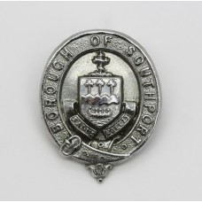 Borough of Southport Police Collar Badge