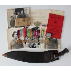 Superb WW2 and Korean War Glorious Gloster's Battle of Imjin River Prisoner of War Medal Group of Six - Pte. R.N. Knight, 1st Bn. Gloucestershire Regiment